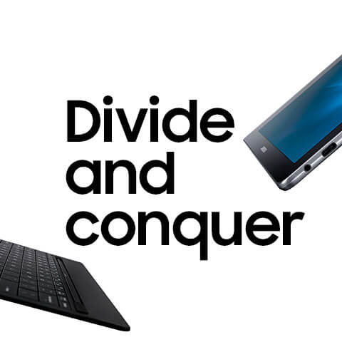 Samsung Tab Pro S – Divide & Conquer